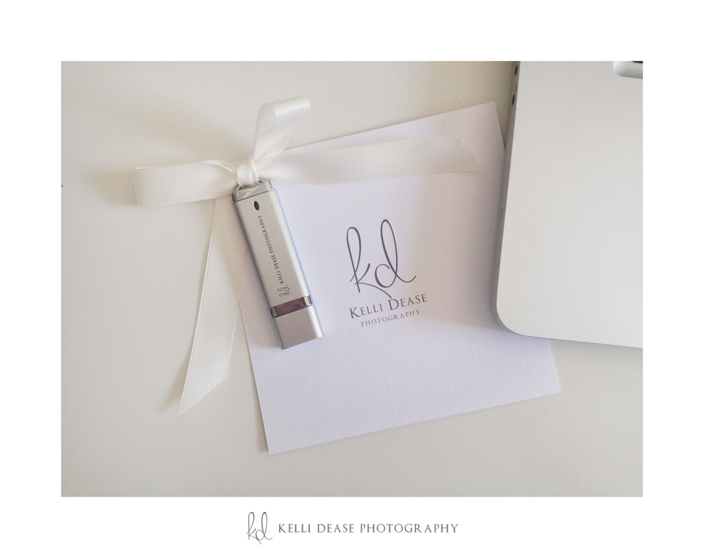 digital photography packaging by boutique family and newborn photography studio, Kelli Dease Photography.