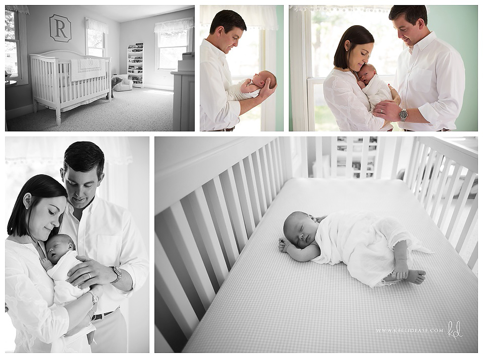 Home Newborn Photos