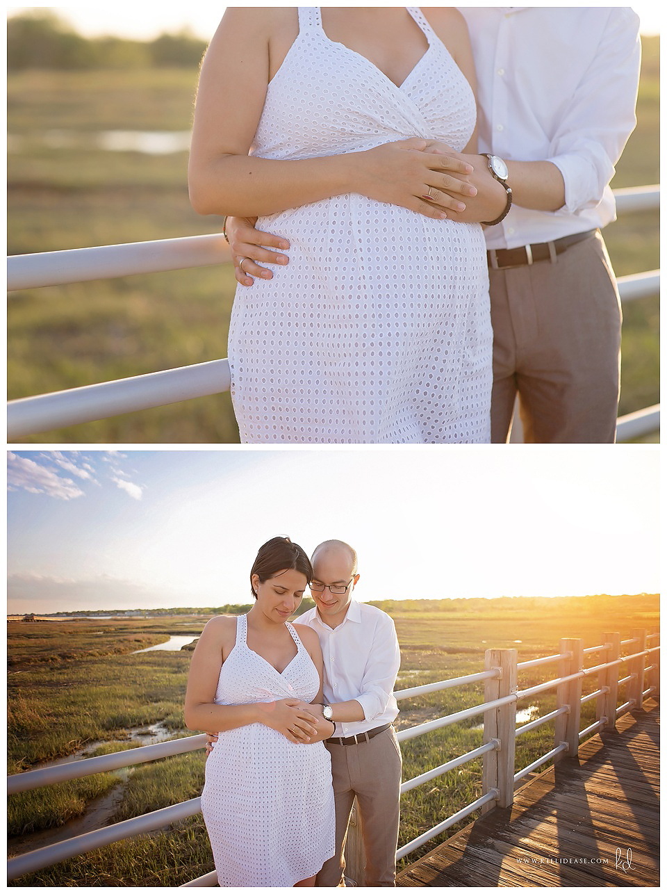 Milford, CT Photography | CT Maternity Photographer | MA Maternity Photography | Maternity Beach Session | Silver Sands State Park Beach Photography | CT Family Maternity Photographer