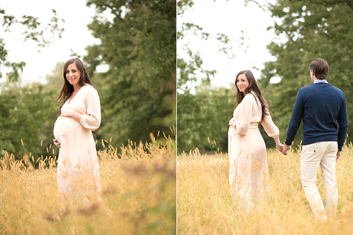 Outdoor Maternity Photo Shoot Connecticut | Natural, light and airy maternity photography | Farmington, CT Maternity Photographers | CT Portrait Studio |www.kellidease.com