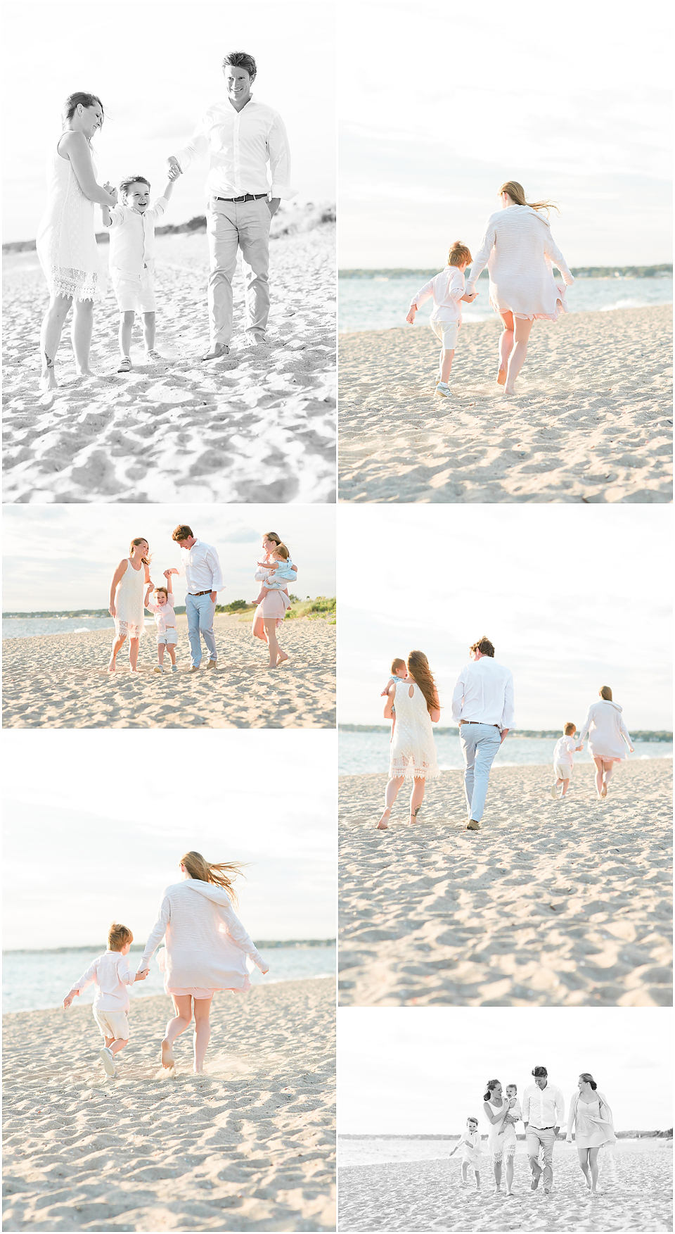 Best Family Photographers in CT | Family Beach Portraits | CT Family Photographers | Family Beach Session | Connecticut Photographers | www.kellidease.com