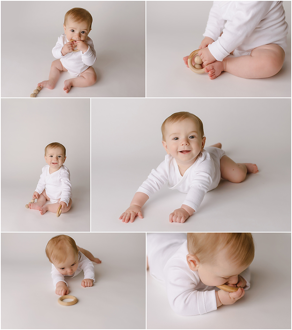 Simple and classic baby photos | Natural, light and airy baby photography | Farmington, CT Photographers | CT Portrait Studio |www.kellidease.com