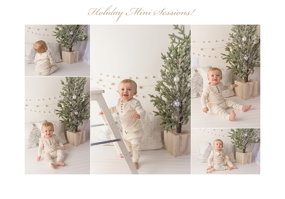 Holiday and Christmas themed photo sessions in the greater Hartford area. Kelli Dease Photography offers holiday mini sessions in CT.