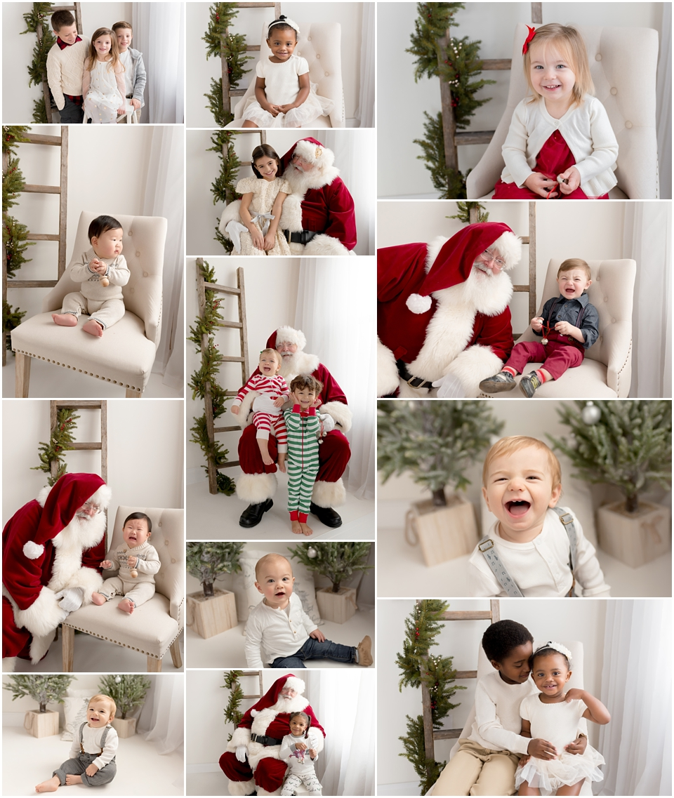 Christmas Mini Sessions.Holiday Wrap Up Santa And Christmas Mini Sessions In Ct