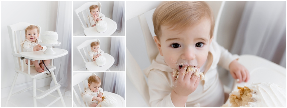 First birthday cake smash themed photo sessions in the greater Hartford area. Kelli Dease Photography offers cake smash mini sessions in CT.