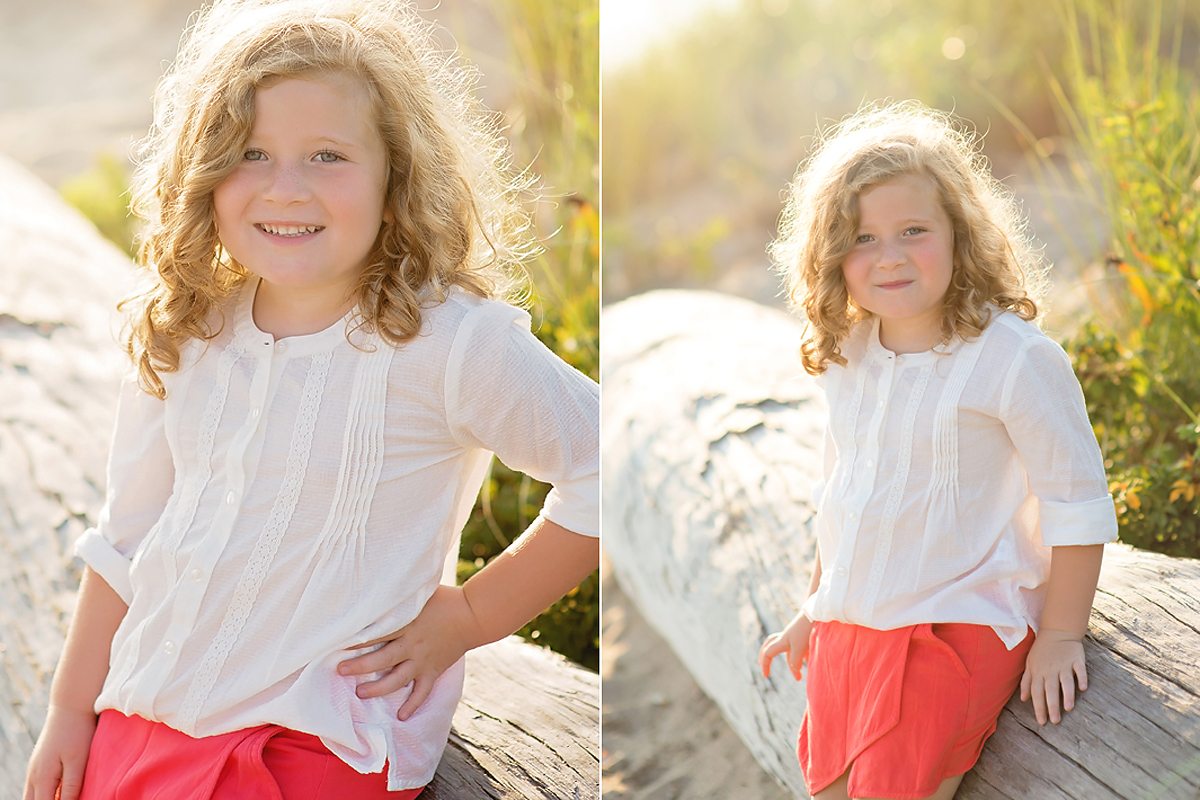 SUNSET CHILDREN'S PORTRAITS AT THE BEACH IN MADISON, CT BY CT FAMILY PHOTOGRAPHER KELLI DEASE