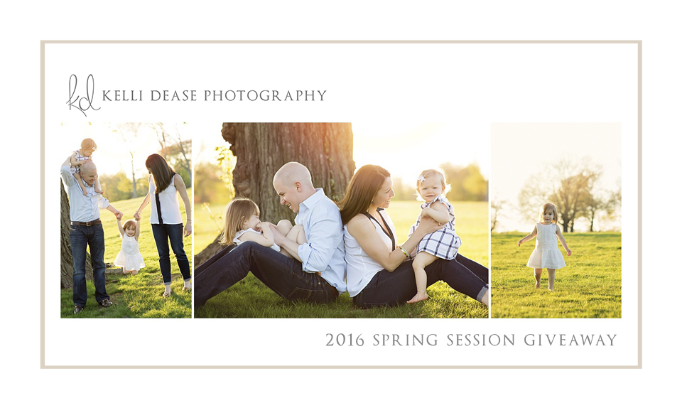 Family photo session giveaway by CT family Photographer Kelli Dease. Win a free photo session. Natural family portraits.