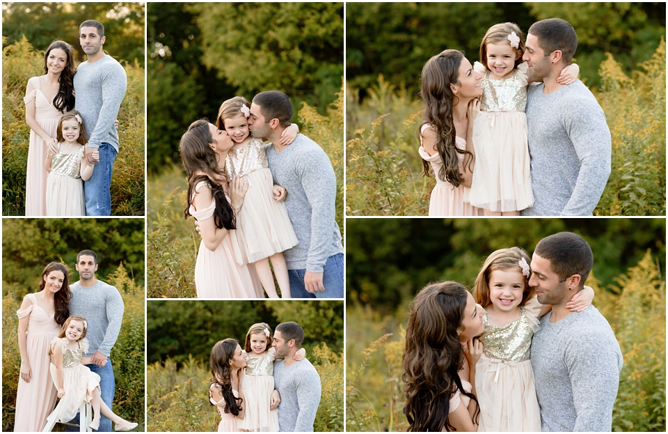 Sunset Field Outdoor Photo Session In Connecticut Best Ct Family Photographer Hartford County